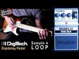 Digitech X-Series XDD DIGIDELAY Digital Delay Pedal Demo