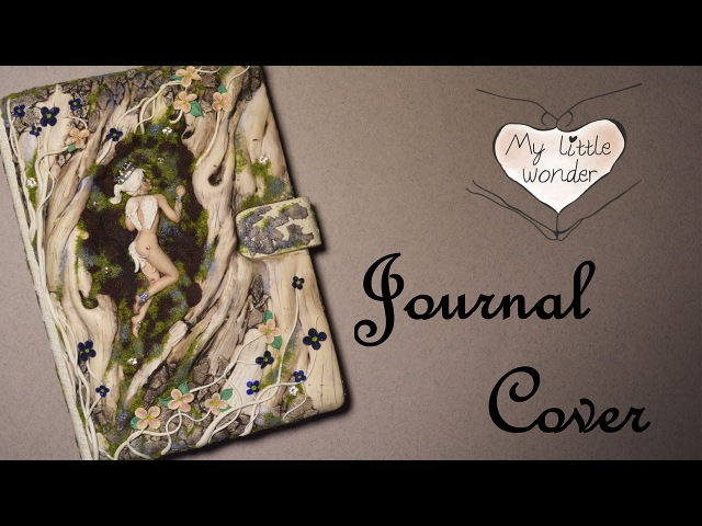 Fantasy Journal Cover - Faux Wood - Part 1