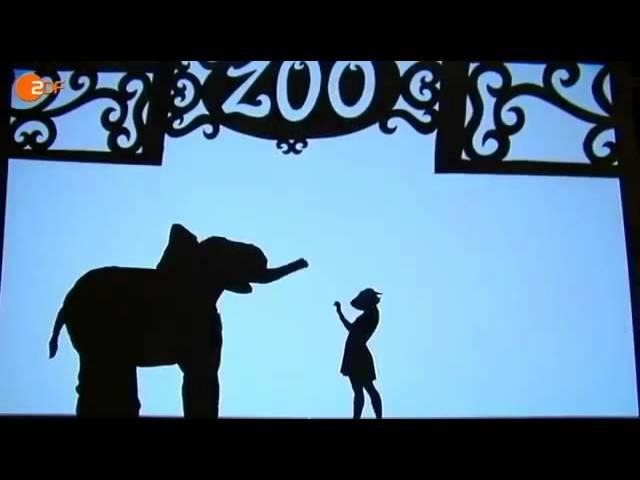 Gruppe Pilobolus Amazing Shadow Dance