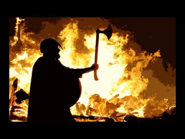 Викинги - песня Войны. Vikings war song - Fehu by Wardruna