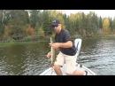 ловля щуки с лодки на вертушки
