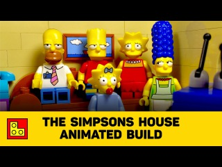 ◉ LEGO The Simpsons House Animated Build (Дом Симпсонов) stop motion review┃смотеть ЛЕГО 71006