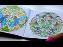 Раскраска Таинственный сад - Secret Garden coloring book