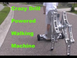 Diy project - homemade machine that walks