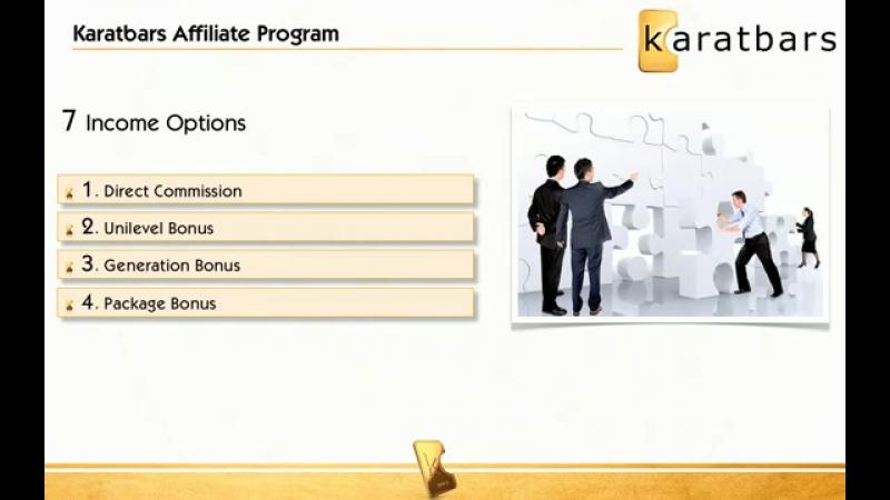 Presentation Karatbars English