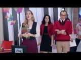 Violetta 3 - Jade, Angie y Priscila cantan -Destinada a brillar- (Ep 58) HD