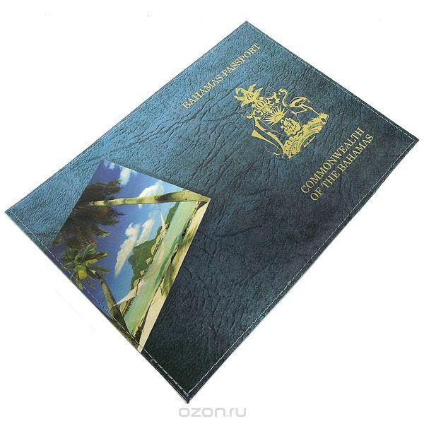 """Обложка для паспорта """"багамы"""". 94195, Эврика"""