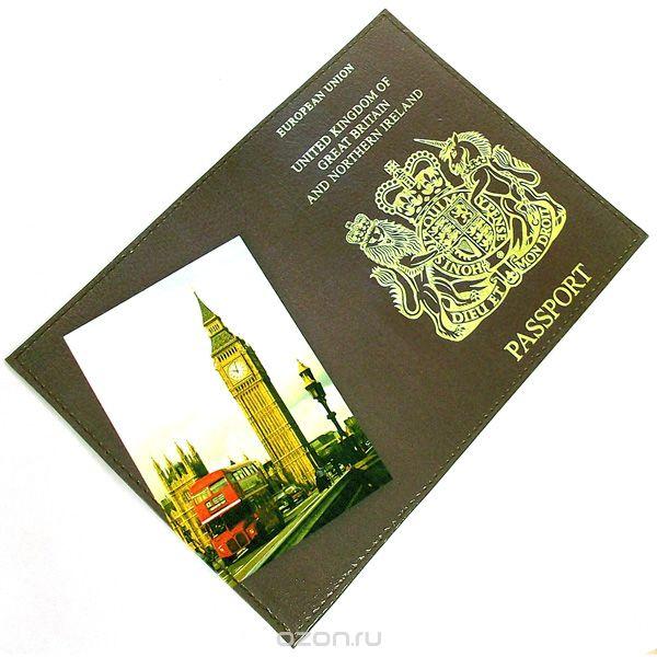 """Обложка для паспорта """"британия"""". 94217, Эврика"""