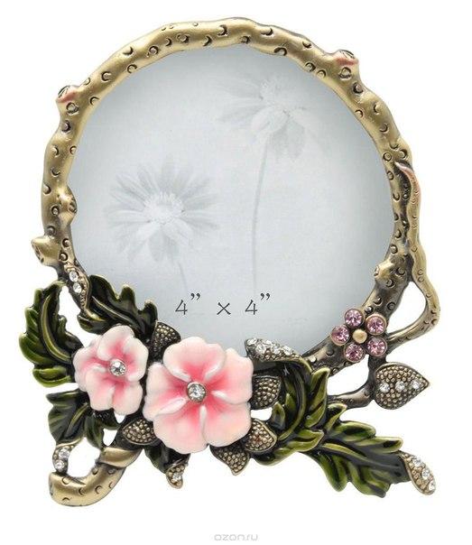 """Рамка для фотографий """"розовые цветы"""", 10 см х 10 см. hs-25012d, Jardin d'Ete"""