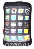"""Подушка """"телефон"""", цвет: черный. 002832, Карамба"""