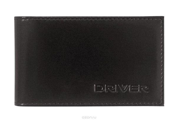 Футляр для пластиковых карт , цвет: черный. 12к1, Driver