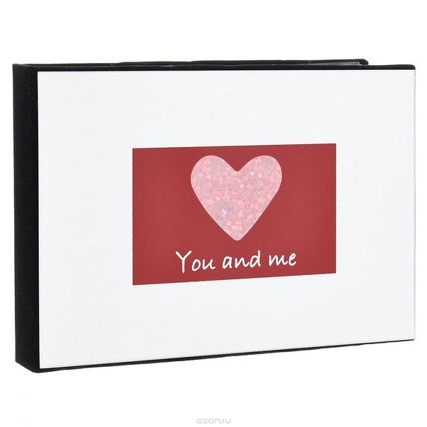 """Фотоальбом """"you and me"""", на 36 фото, 15 см х 10 см. 39791, Win Max"""