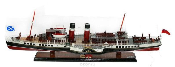 """Модель корабля """"waverly"""", 80 см х 17 см х 28 см, Сэн Тровасо"""