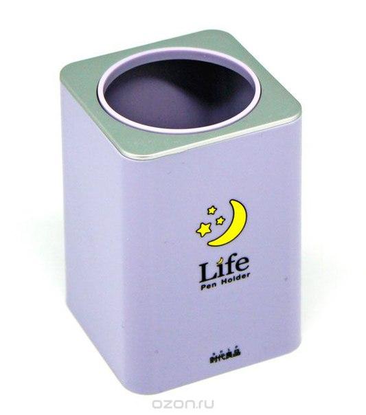 """Подставка для ручек """"life"""", цвет: сиреневый, Ezh-style"""