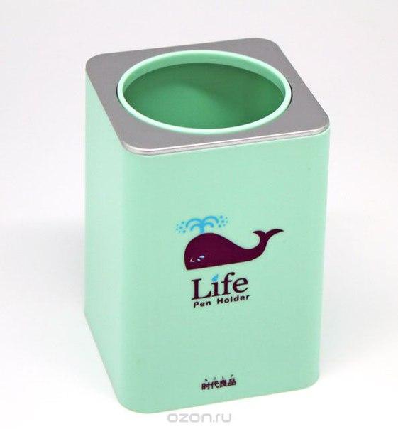 """Подставка для ручек """"life"""", цвет: фисташковый, Ezh-style"""