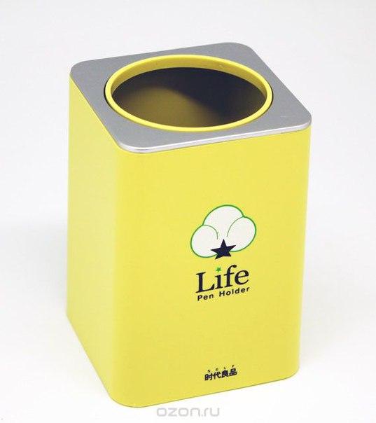 """Подставка для ручек """"life"""", цвет: желтый, Ezh-style"""