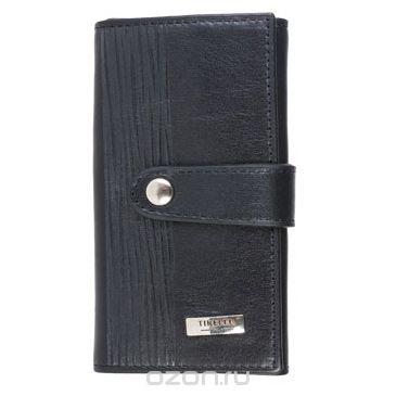 """Ключница маленькая """"wood"""", цвет: черный. 15-334-08, Tirelli"""