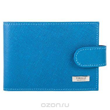 "Футляр для карточек ""виктория"", цвет: голубой. 15-313-02, Tirelli"