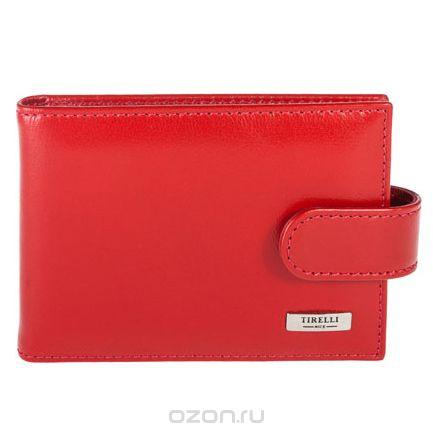 """Футляр для карточек """"классик"""", цвет: красный. 15-316-06, Tirelli"""