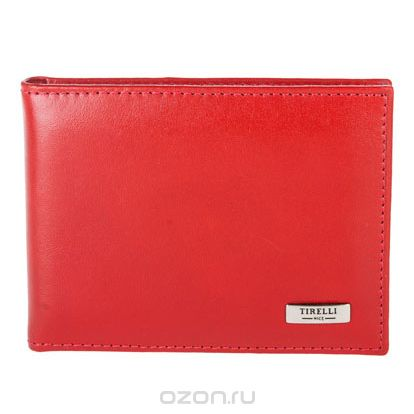 """Футляр для карточек """"классик"""", цвет: красный. 15-319-06, Tirelli"""