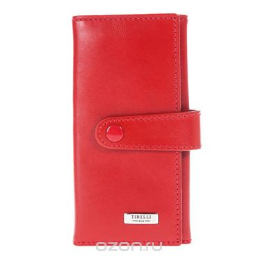 """Ключница маленькая  """"классик"""", цвет: красный. 15-334-06, Tirelli"""