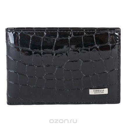 """Футляр для карточек """"санта моника"""", цвет: черный. 15-319-14, Tirelli"""