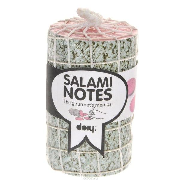 "Блок для записей ""salami"", диаметр 6 см, Doiy"