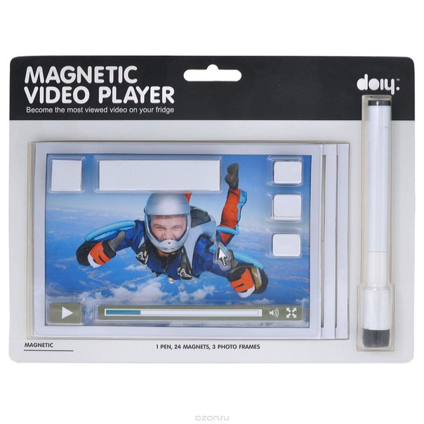 "Набор магнитов ""video player"", 24 шт. dhdmmvp, Doiy"