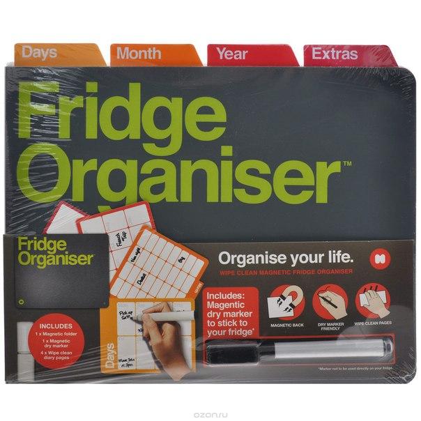 "Магнитный органайзер на холодильник ""fridge organiser"". ng5326, Mustard"