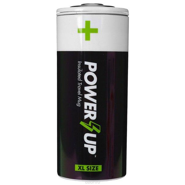 "Фляга для путешествий ""power up"". ng5032, Mustard"