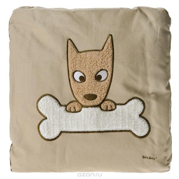 "Подушка ""собака"", цвет: бежевый. 15160, PETS@work"