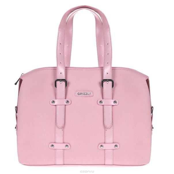 Портфель , цвет: розовый. bp-481, Grizzly