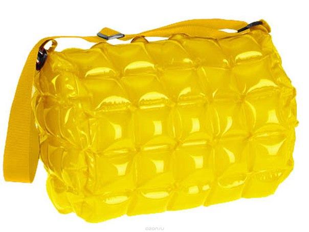 """Сумка надувная пляжная """"inflat decor"""", цвет: желтый. 0016, Toy World"""