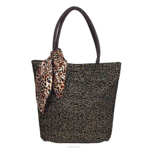 """Сумка женская """"fancy bag"""", цвет: черный, золотистый. 12-r32717-04, Fancy bag / Fancy's Bag"""