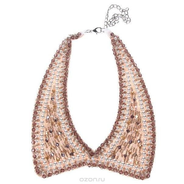 """Воротник декоративный """"fancy's bag"""", цвет: коньяк. j12-g-02, Fancy bag / Fancy's Bag"""