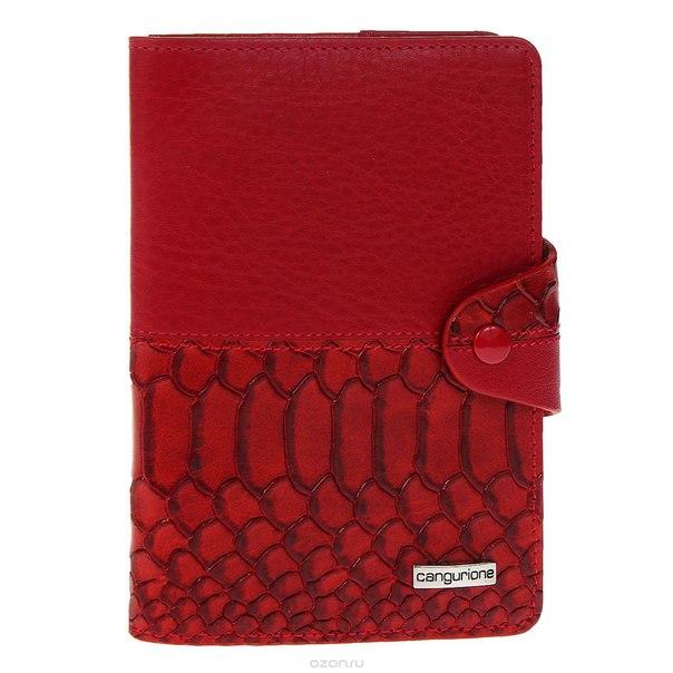 Обложка для паспорта , цвет: красный. 3326-006 dp-anc, Cangurione
