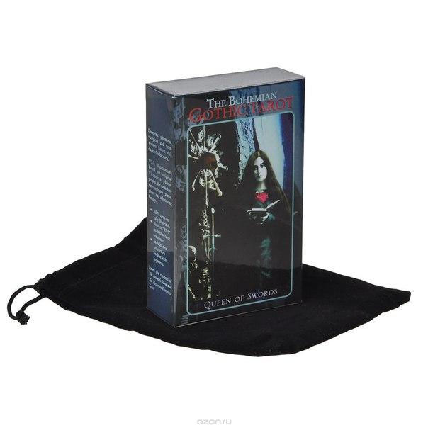 "Карты ""таро богемское готическое"", с бархатным мешочком, 78 карт, Magic Realist Press"