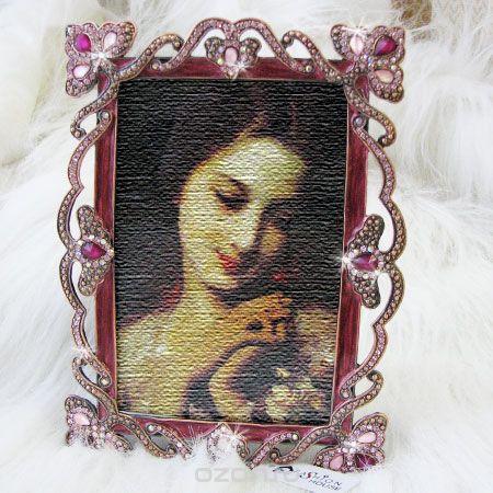 Фоторамка , цвет: малиновый, розовый. fh16334, Fashion House