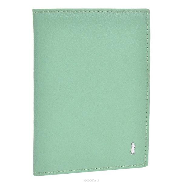 Обложка для паспорта , цвет: мятный. 1817455 mint, Gianni Conti