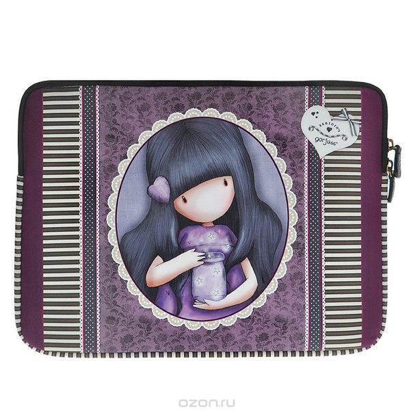 "Чехол для ноутбука ""we can all shine"", цвет: фиолетовый. 0012188, Santoro Gorjuss"