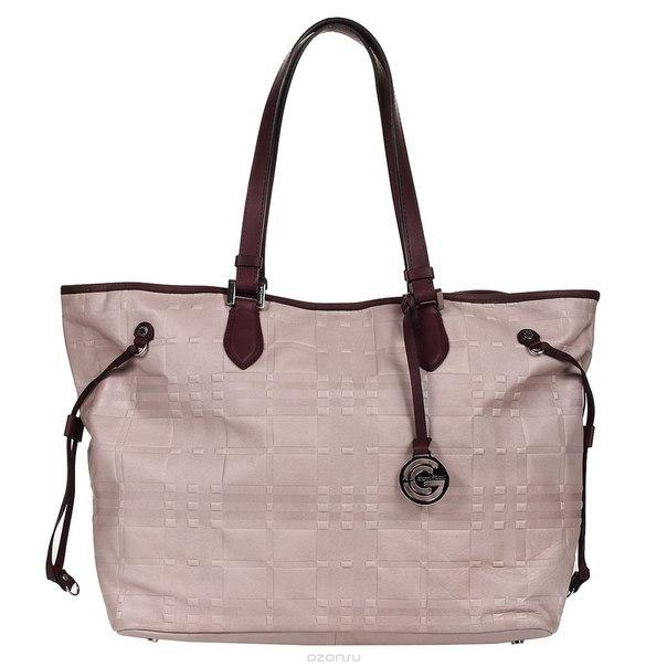 Сумка женская , цвет: серо-розовый. 1636896e fard burgundy, Gianni Conti