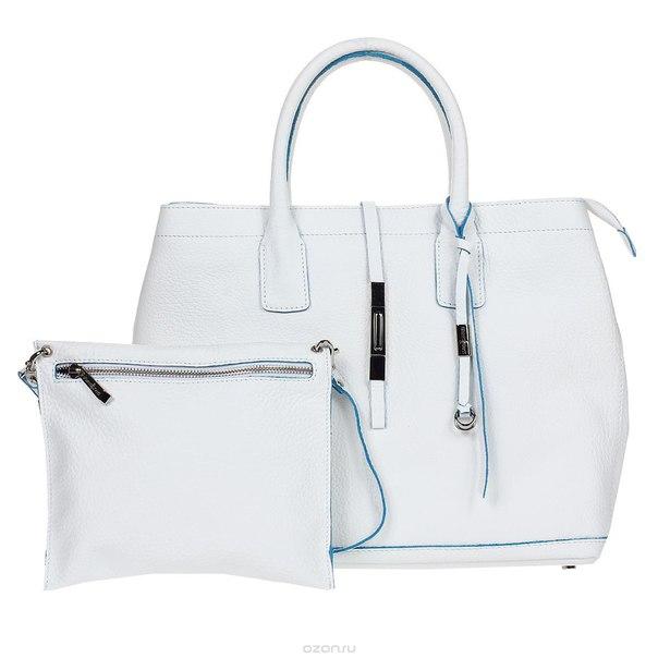 Сумка женская , цвет: белый. 1714571eur white, Gianni Conti
