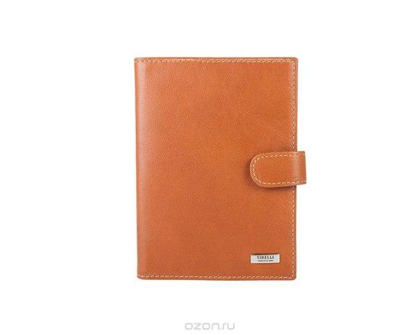 """Бумажник водителя """"коньяк"""", цвет: рыжий. 15-320-11, Tirelli"""