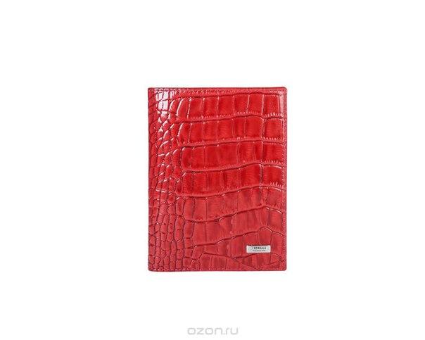 """Бумажник водителя """"кроко"""", цвет: красный. 15-302-16, Tirelli"""