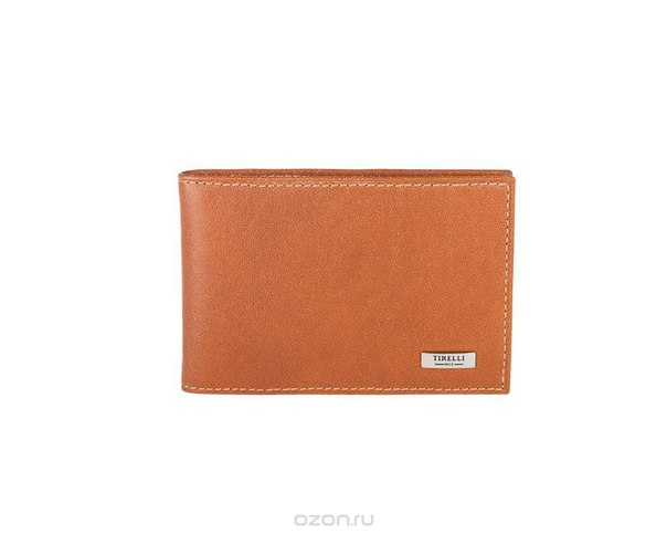 "Футляр для карточек ""коньяк"", цвет: рыжий. 15-319-11, Tirelli"