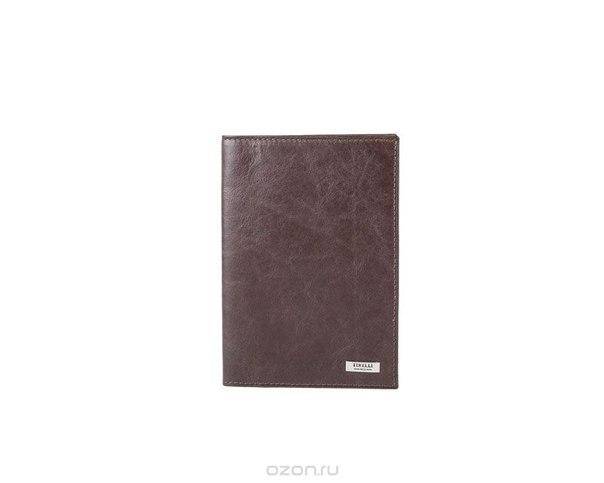 """Обложка для паспорта """"денвер"""", цвет: коричневый. 15-333-12, Tirelli"""
