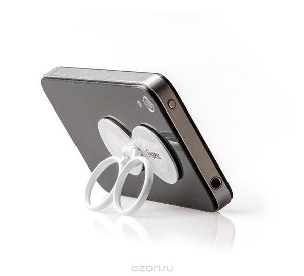 """Мобильный захватчик yandex """"бесконечность"""", цвет: белый. yh-ueninf, Яндекс / Яndex"""