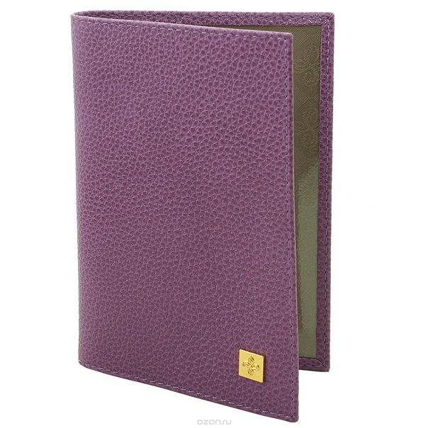 """Обложка для паспорта женская """"purpur"""", цвет: пурпурный. 100, Dimanche"""