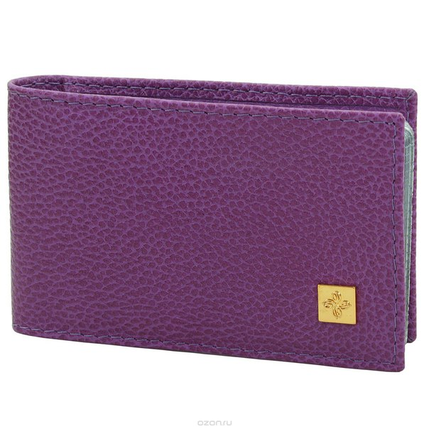 "Визитница  ""purpur"", цвет: пурпурный. 104, Dimanche"