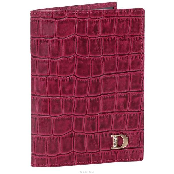 """Обложка для паспорта женская """"framboise"""", цвет: малиновый. 300, Dimanche"""